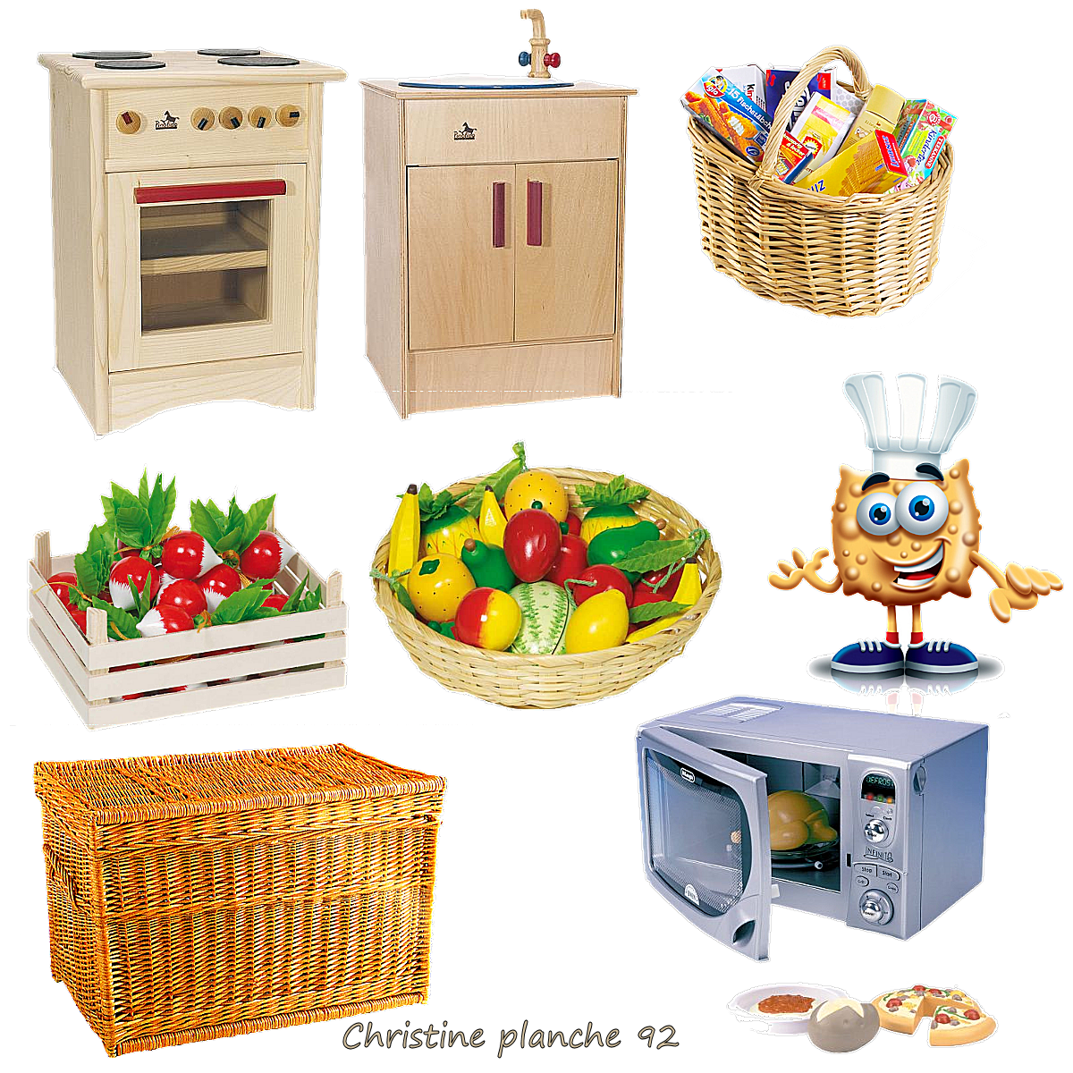 Tubes mangas for Mobilier cuisine